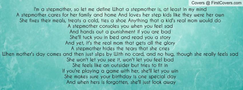 Stepmom Quotes For Facebook. QuotesGram
