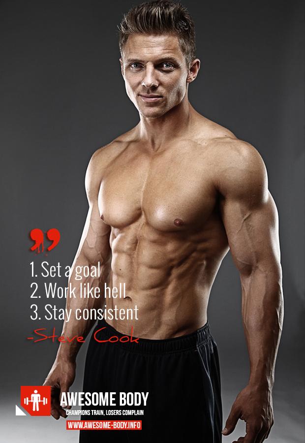 Steve Cook Bodybuilder Quotes Quotesgram