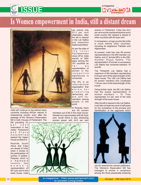Essay On Women Empowerment In India