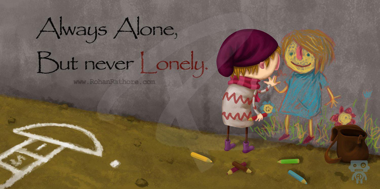 always alone quotes quotesgram