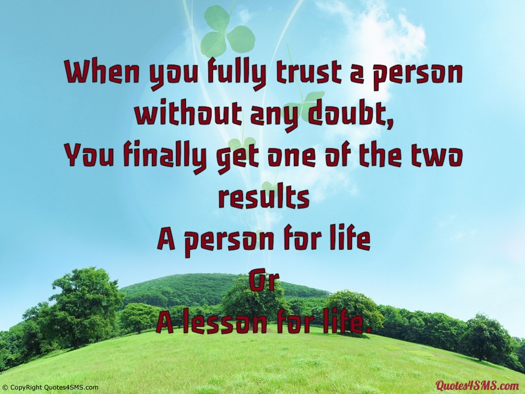 Quotes About Doubting Someone. QuotesGram