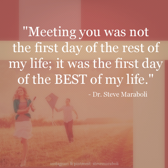 our first meeting love quotes First meeting you quotes - 1 since the first day i met you,that first glance at your eyes,the first time you told me you loved me, my life was changed forever, your love made me who i am today,your presence in my life inspires me to be better every day, i love you with all my senses.