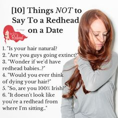 Red head dating