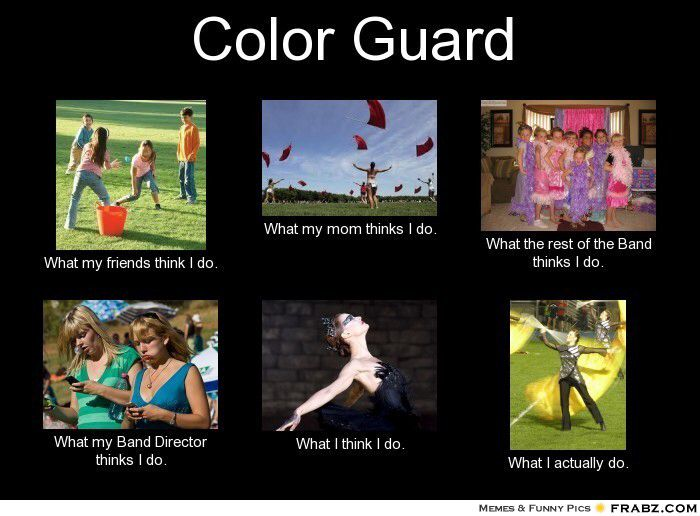 Rifle Color Guard Quotes: Funny Band Director Quotes. QuotesGram