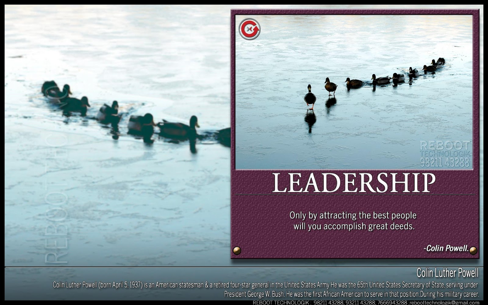leadership quotes Many leadership quotes come from famous leaders throughout history quotes  from people who made historical impacts out of a position of.