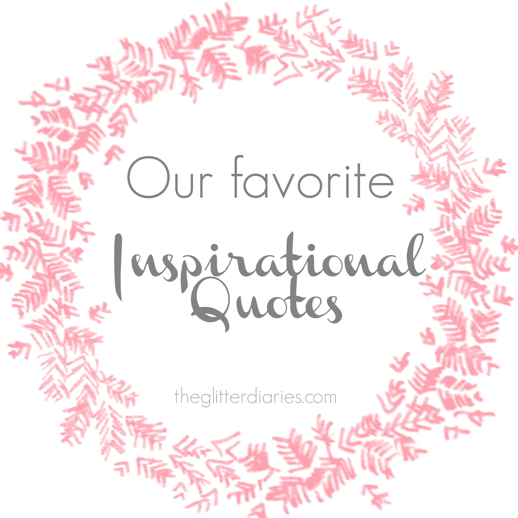 Inspirational Day Quotes: Inspirational Quotes Glitter. QuotesGram