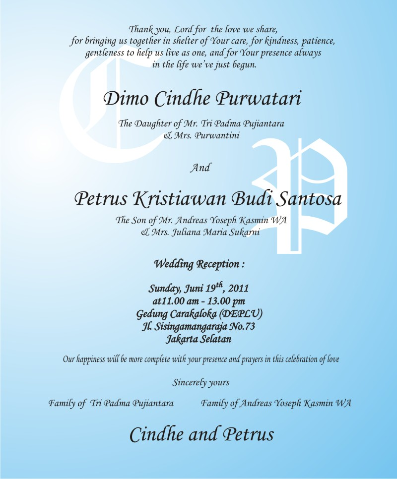 Invitations Quotes For Parents. QuotesGram