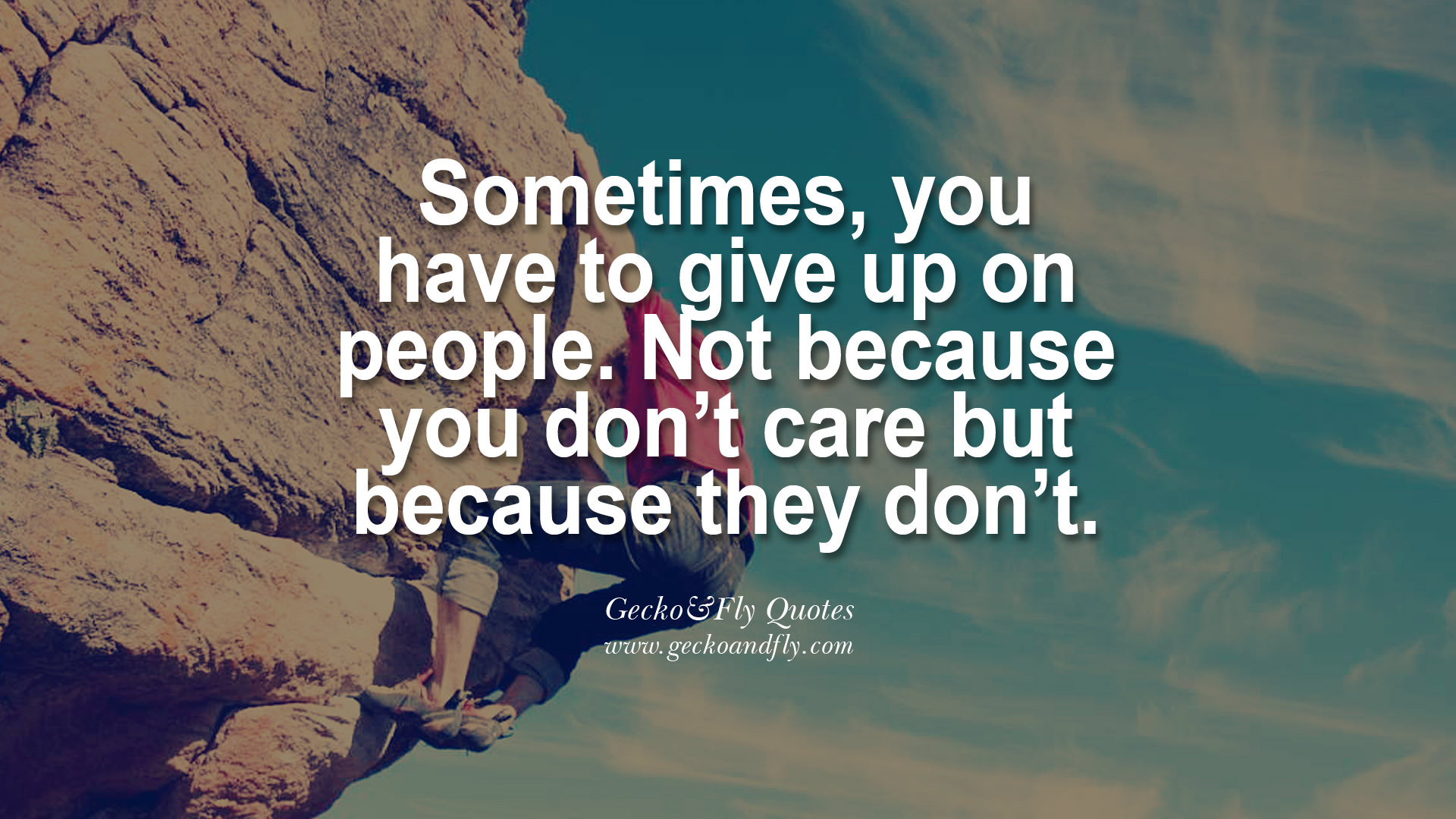 Quotes About Giving Up On A Relationship. QuotesGram