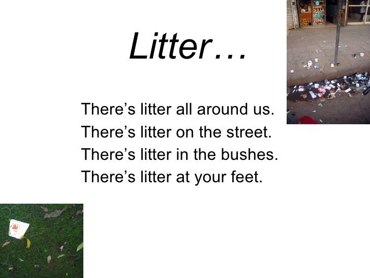 Anti Littering Quotes Quotesgram