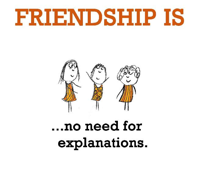 need and friend