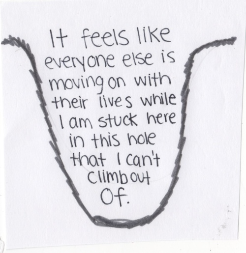 Quotes About Feeling Stuck. QuotesGram