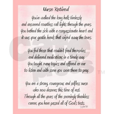 Nurse Retirement Poems And Quotes. QuotesGram