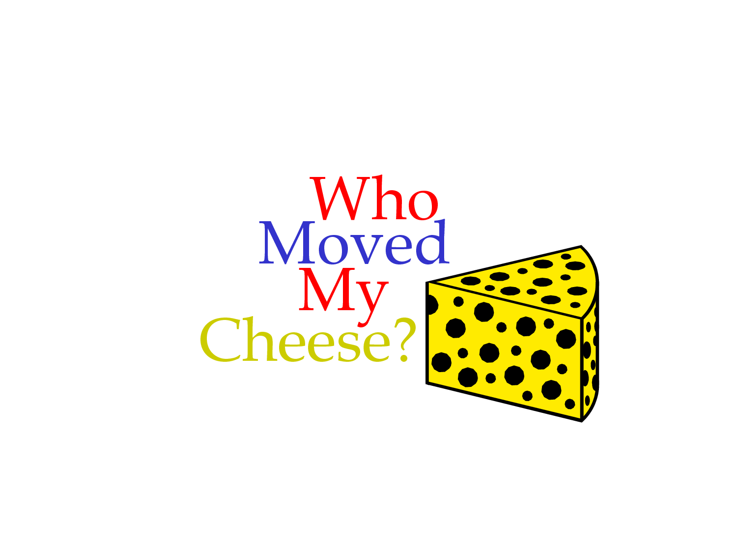 who moved my cheese power point slides Who moved my cheese item preview remove-circle share or embed this item embed embed (for wordpresscom hosted blogs and archiveorg item  tags) want.