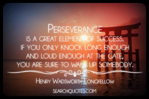 success motivational quotes perseverance quotesgram