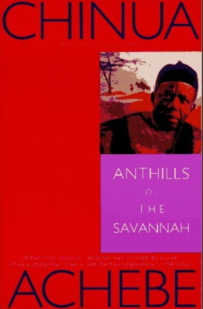 anthills of the savannah is a