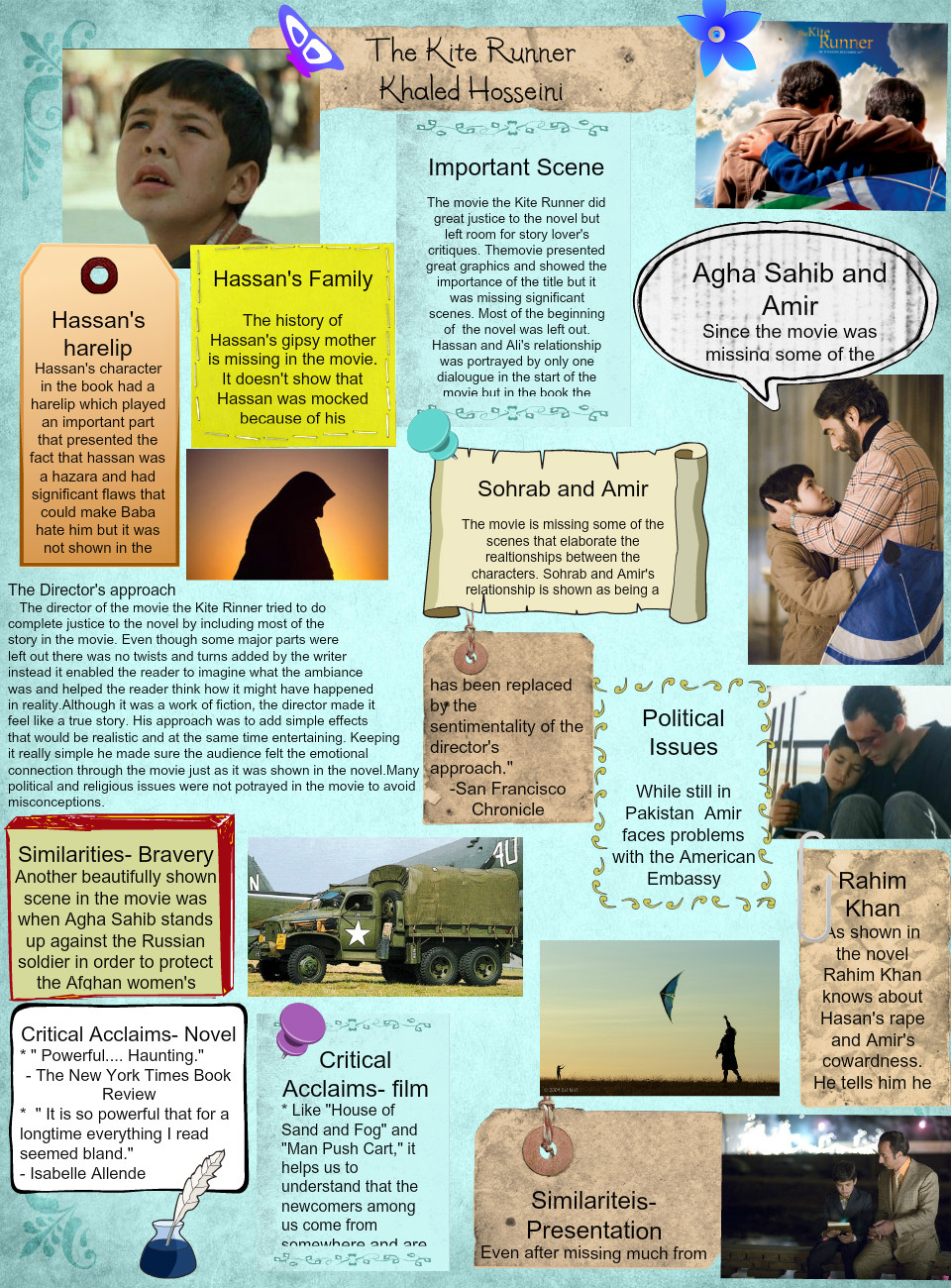justice in the kite runner essay