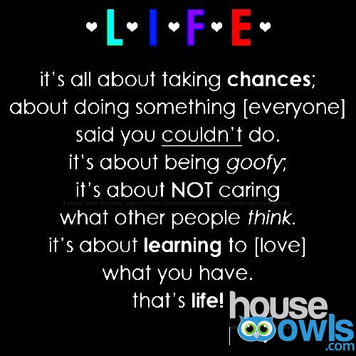 quotes about taking chances - photo #24
