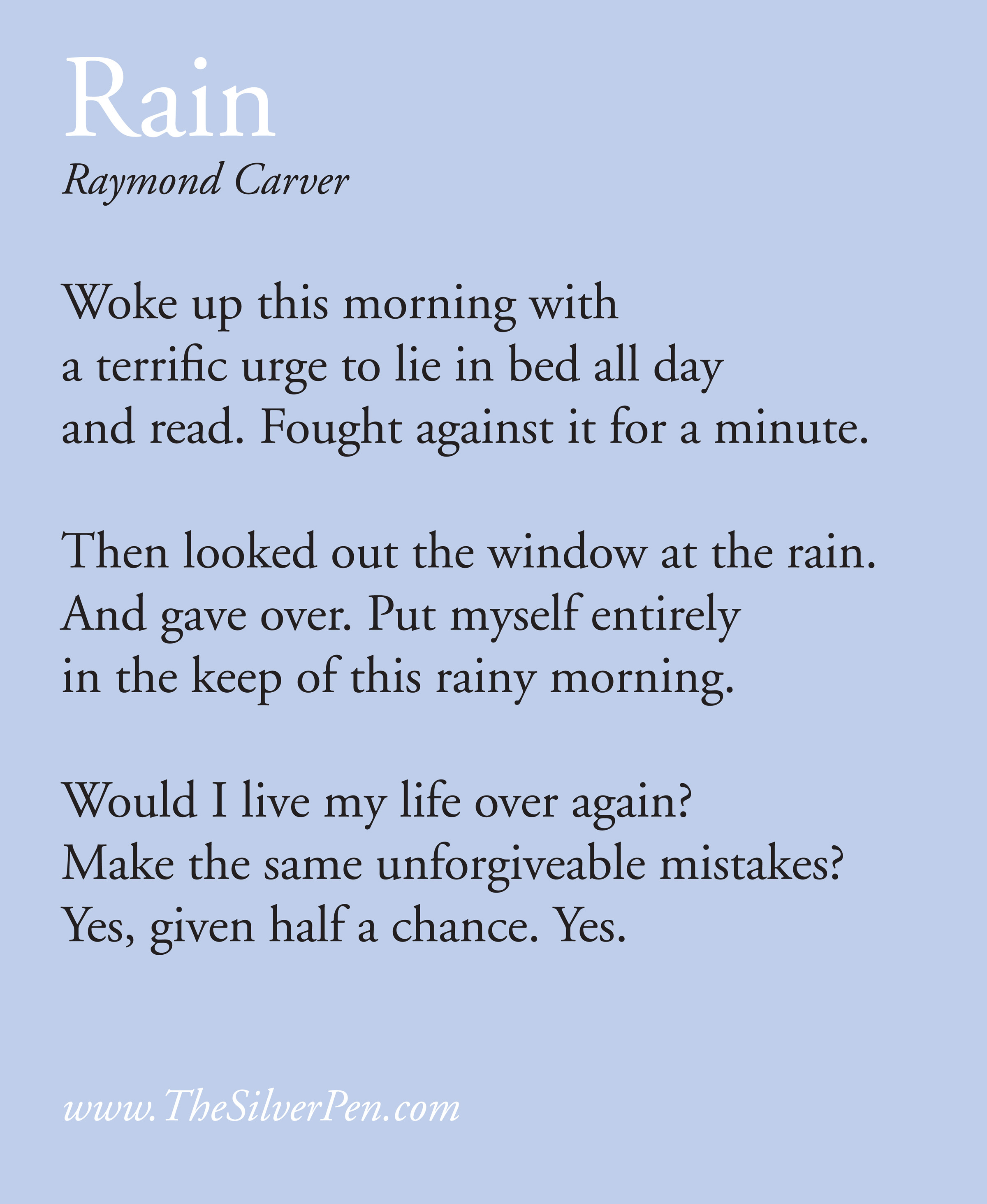 Rainy Day Inspirational Quotes: Rainy Day Inspirational Quotes. QuotesGram