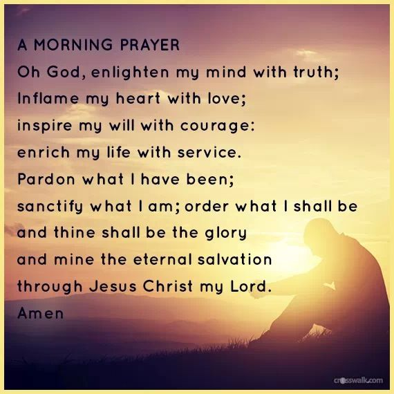 Good Morning Prayer Quotes Quotesgram