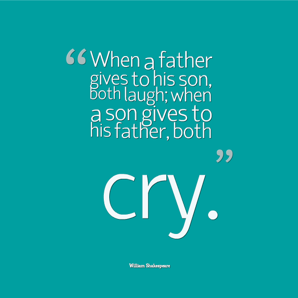 Famous Quotes Fatherhood