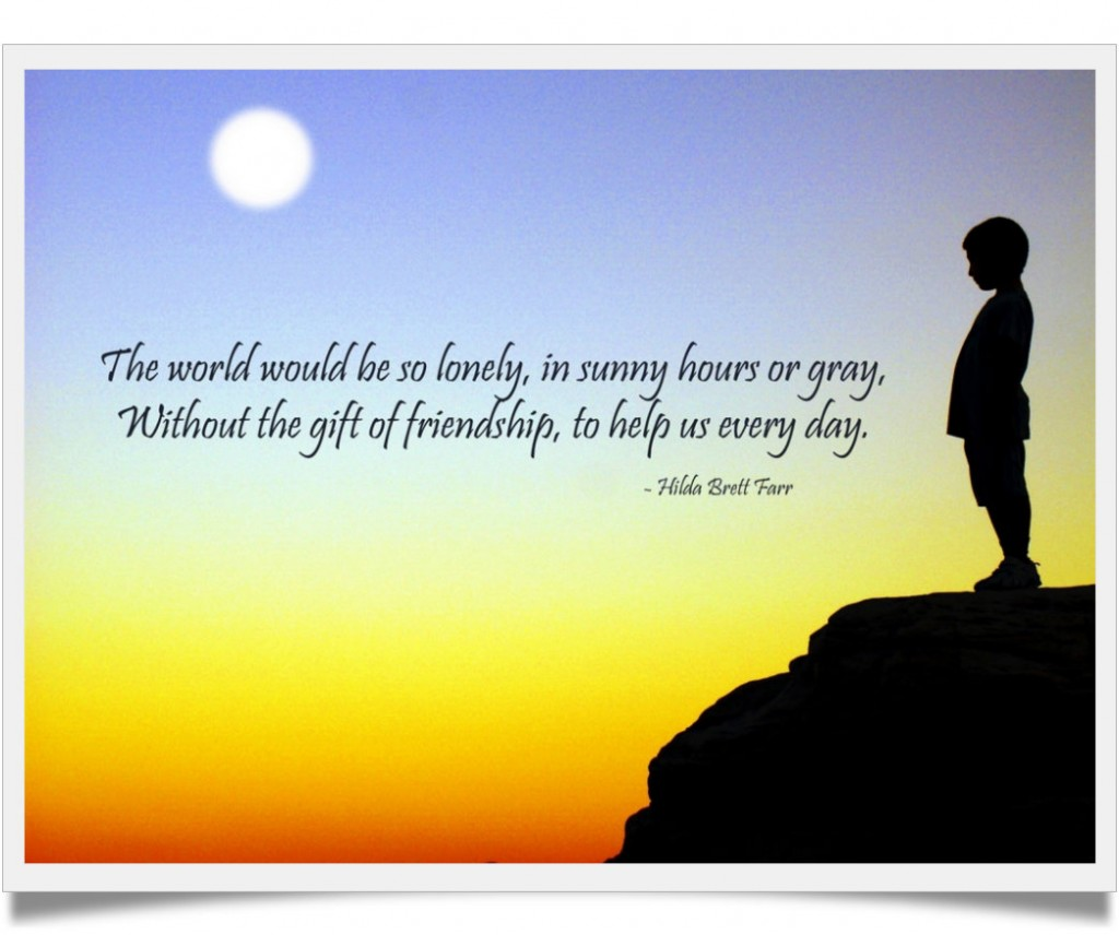 Inspirational Quotes On Loneliness: Friendship Quotes Lonely. QuotesGram
