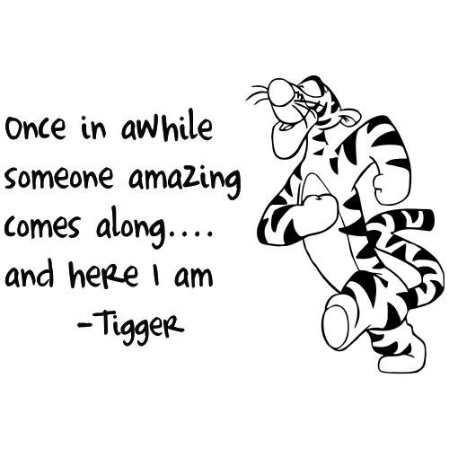 Classic Tigger Quotes Quotesgram