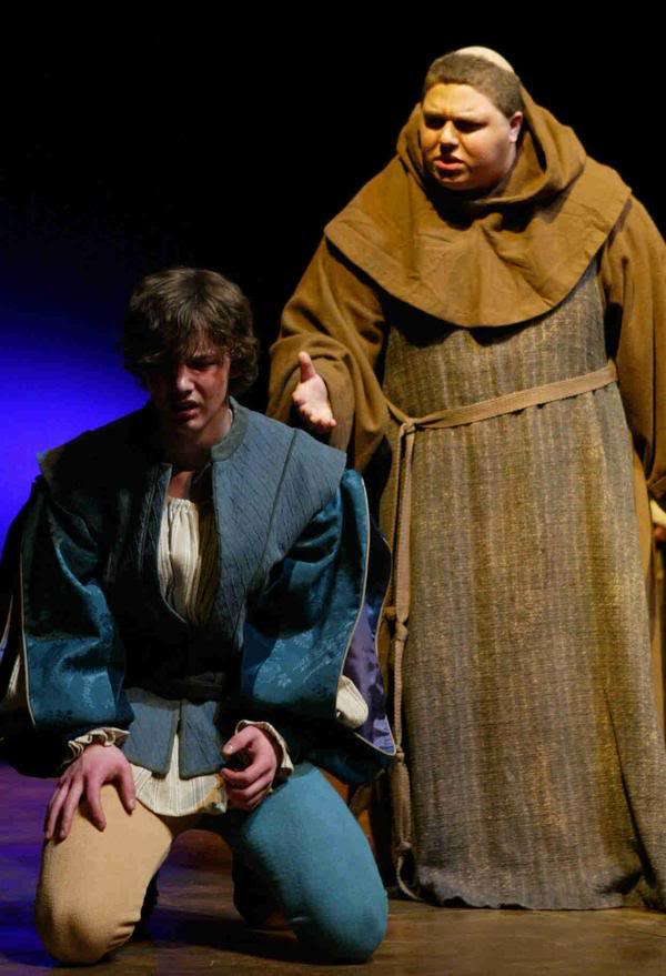 romeo and friar lawrence relationship trust