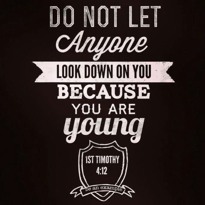 Biblical Quotes For Youth Quotesgram