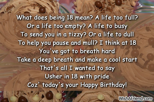Quotes About Son Turning 18. QuotesGram