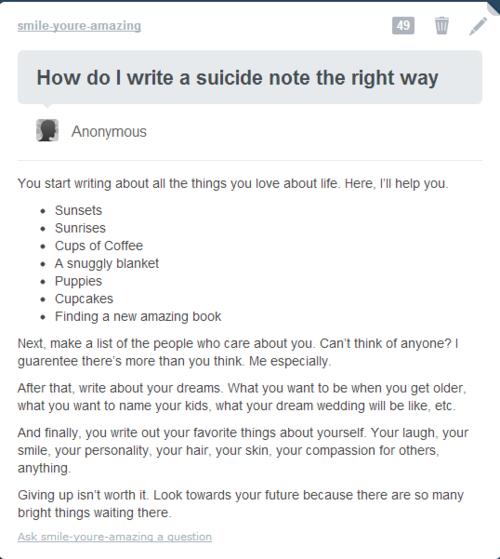 Anti Suicide Quotes Beautiful. QuotesGram  Anti Suicide Qu...