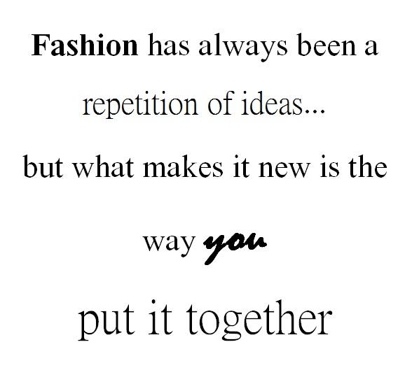 Famous Quotes About Fashion Quotesgram