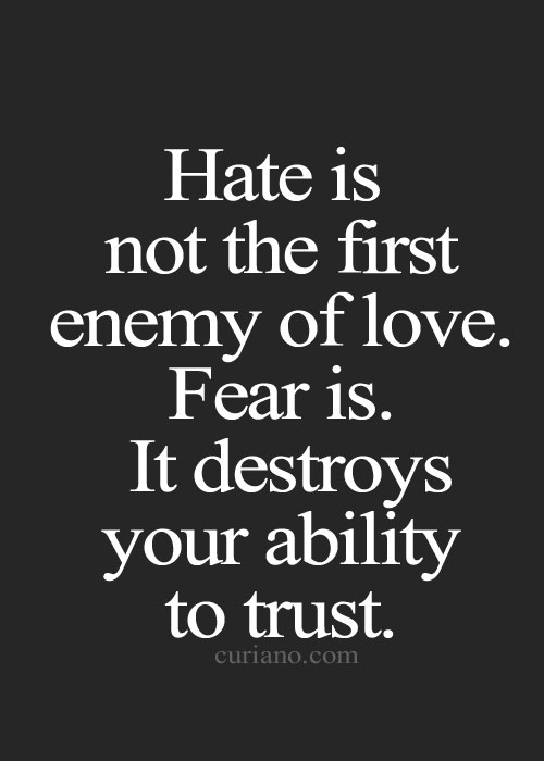 fear of trusting others relationship