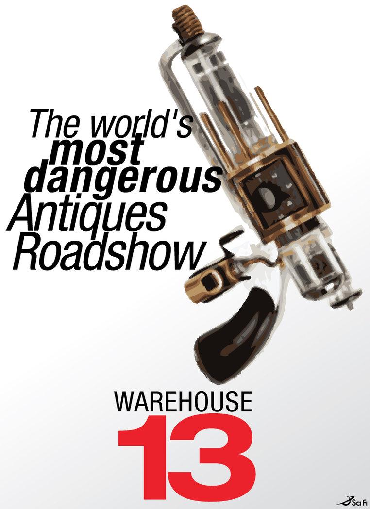 Warehouse 13 - Agent Toolkit Prints on Behance