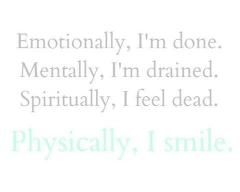 Feeling Emotionally Drained Quotes. QuotesGram