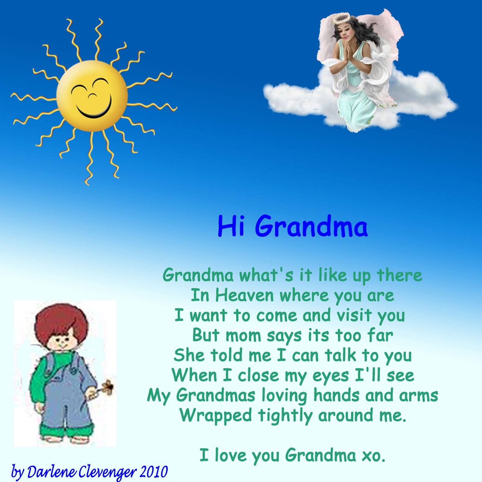 I Miss My Grandma Quotes: Missing Grandma In Heaven Quotes. QuotesGram