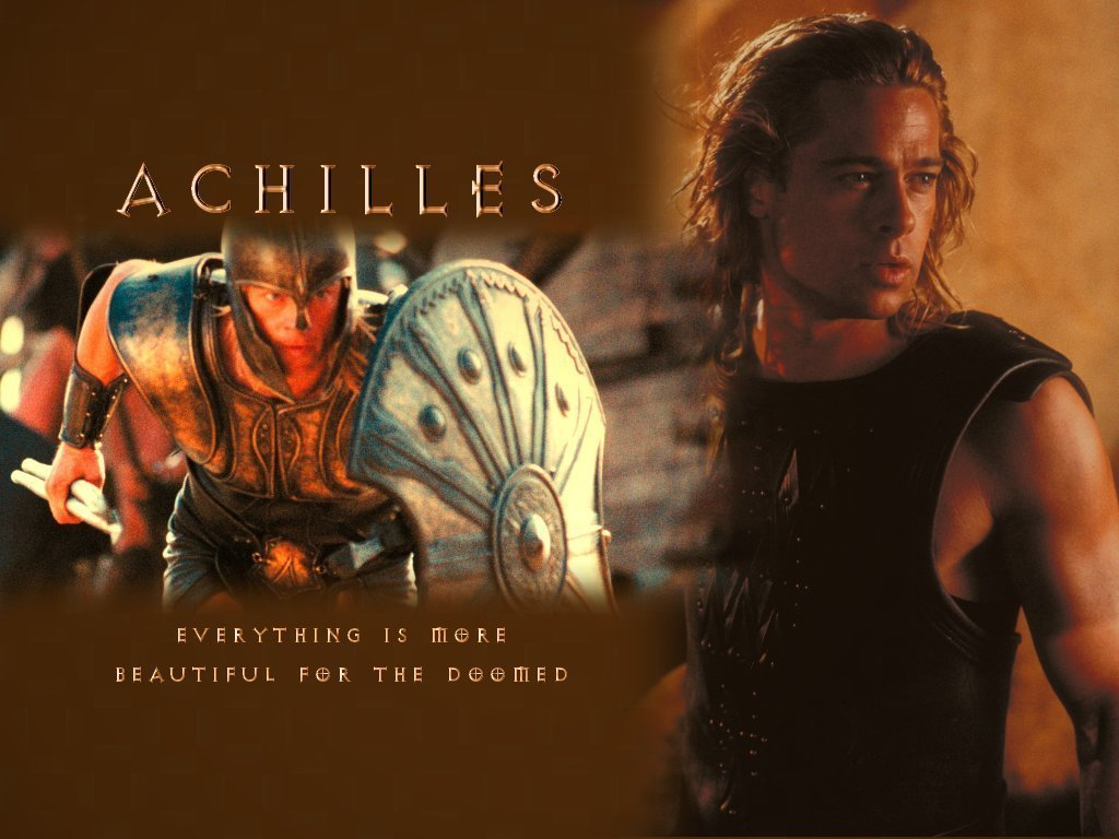 achilles and homer Homer was the first fruit of her juvenile frailty, and received the name of melesigenes, from having been born near the river meles, in boeotia, whither critheis had been.