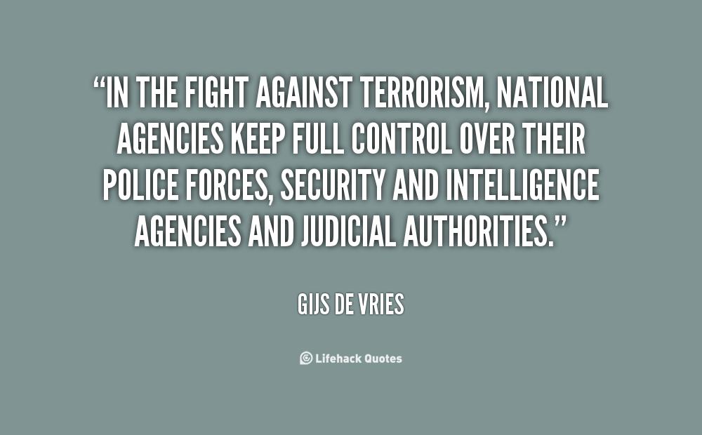essay on fight against terrorism