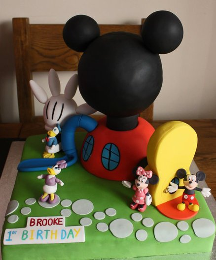 How To Make A Minnie Mouse Cake With Tail
