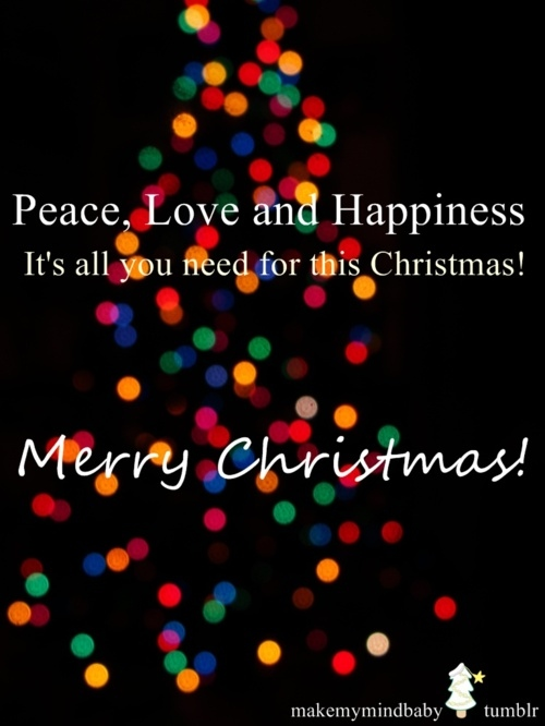 Christmas Quotes Peace. QuotesGram