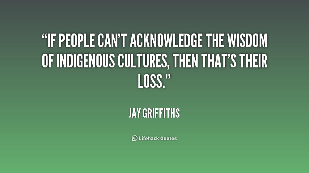 Acknowledging Quotes. QuotesGram