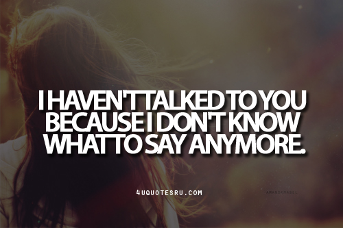 I Dont Know Anymore Quotes. QuotesGram