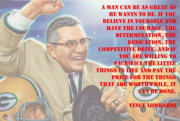 Vince Lombardi Quotes On Determination. QuotesGram