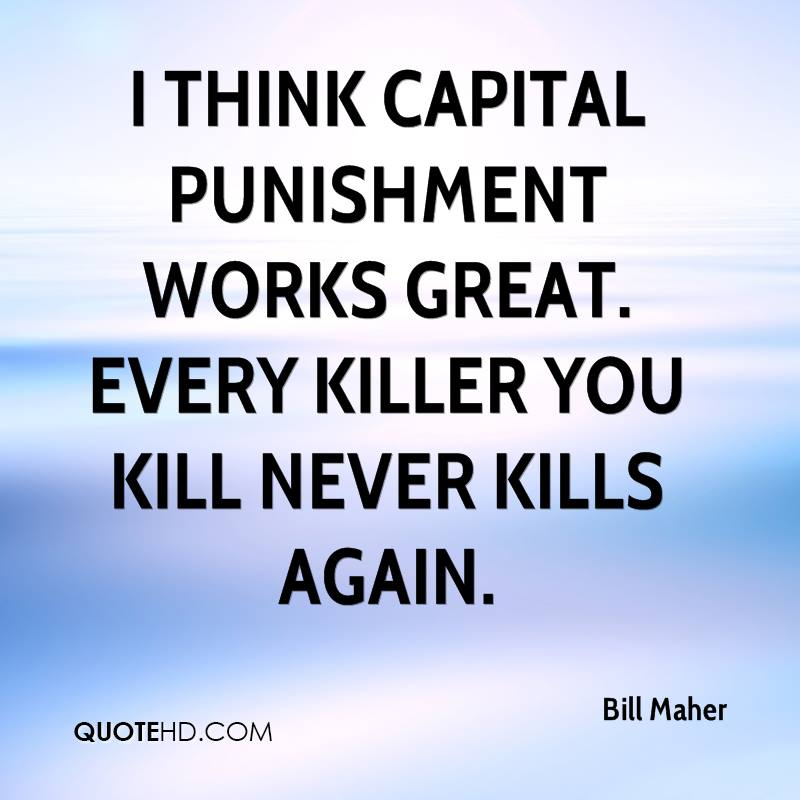 william lees view on capital punishment The day of the doctor was the 50th   the doctor's tired face comes into view as he strides  but she decides that his fate and punishment will be to survive.