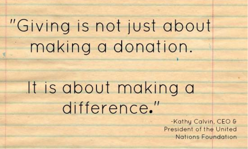 Famous Quotes On Giving Back. QuotesGram