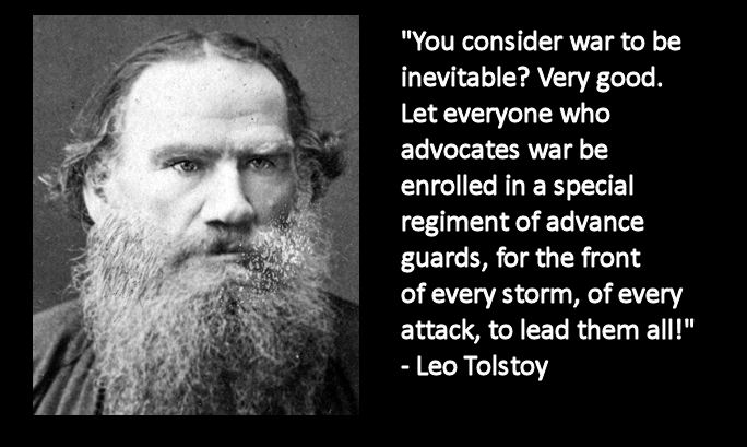 essay on war and peace by leo tolstoy