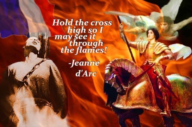 Joan of Arc Quotes. QuotesGram