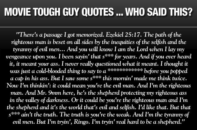 Tough Guy Movie Quotes. QuotesGram
