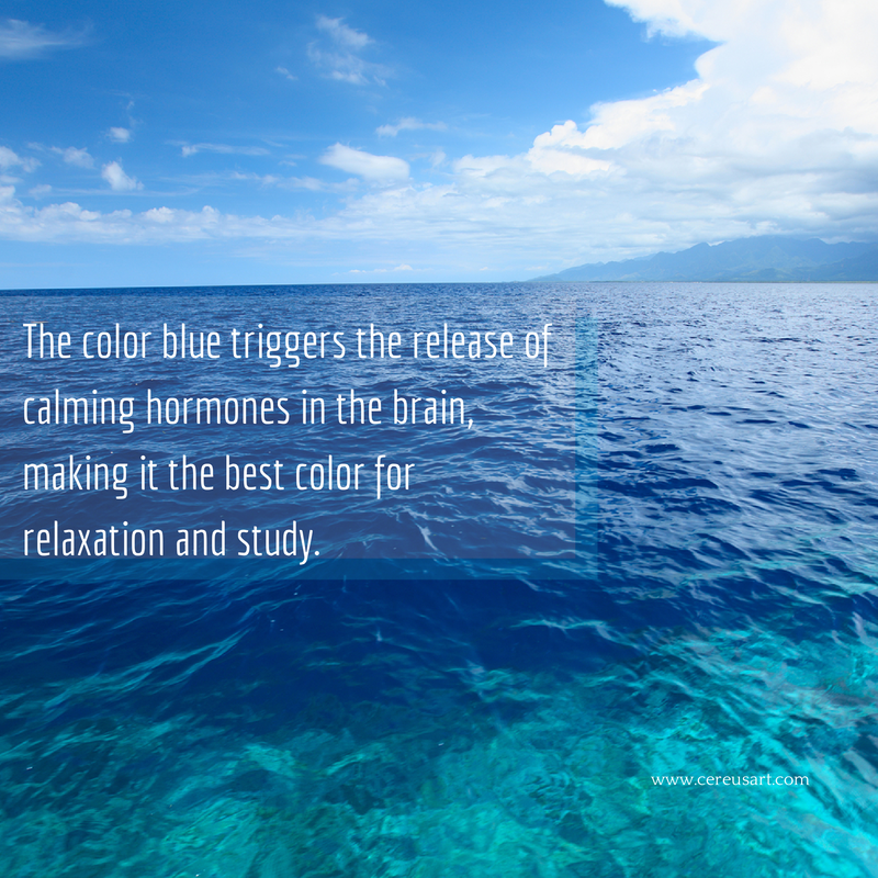 Quotes about the color blue quotesgram - Is blue a calming color ...