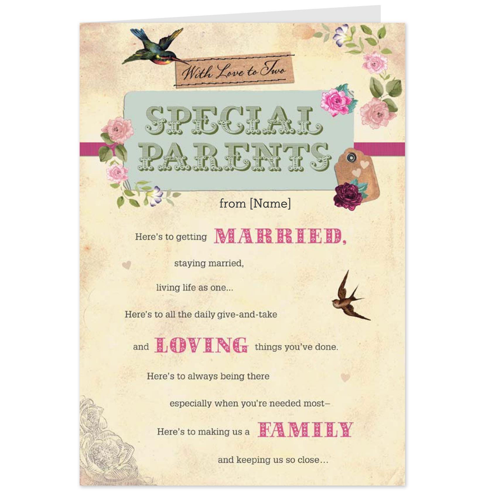 Parents th anniversary quotes quotesgram