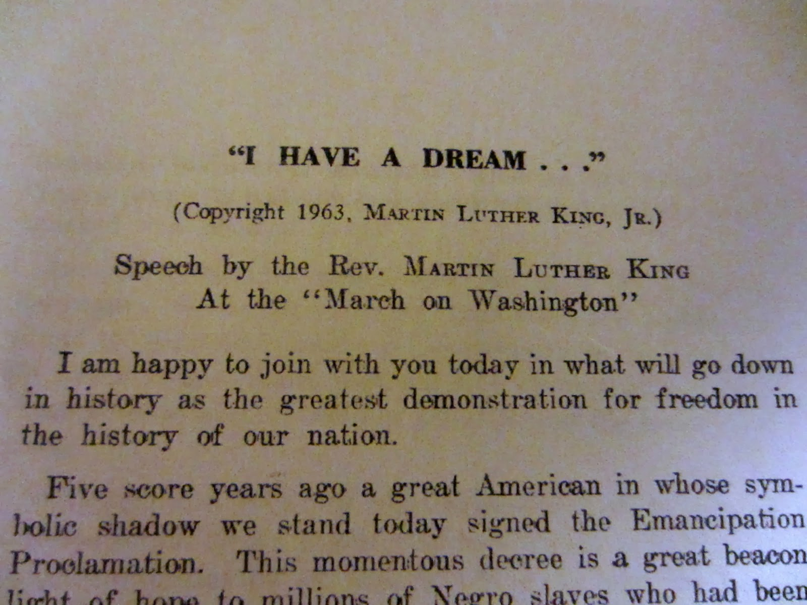 i have a dream essay scholarship I have a dream: rhetorical analysis - rhetoric essay example five elements of rhetoric: speaker: martin luther king jr , a baptist minister from atlanta, georgia, who was inspired by christianity and gandhi.